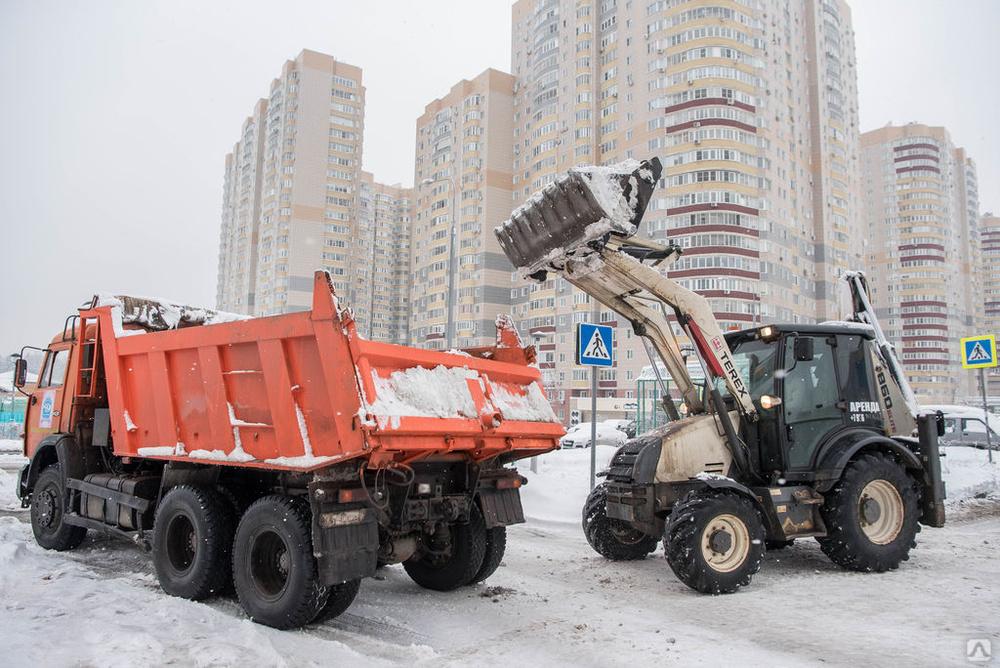 Уборка территории и вывоз снега заказать, цена в Уфе